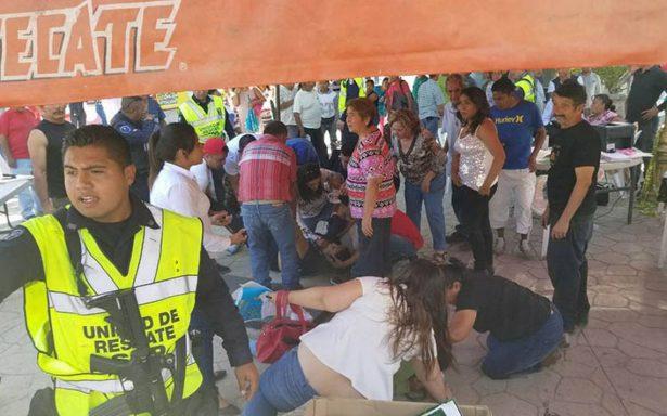 Muere empleada municipal en ataque a módulo del Fonden en Jojutla