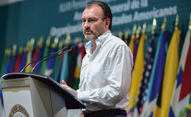 Fracasa México en condena de la OEA contra Venezuela
