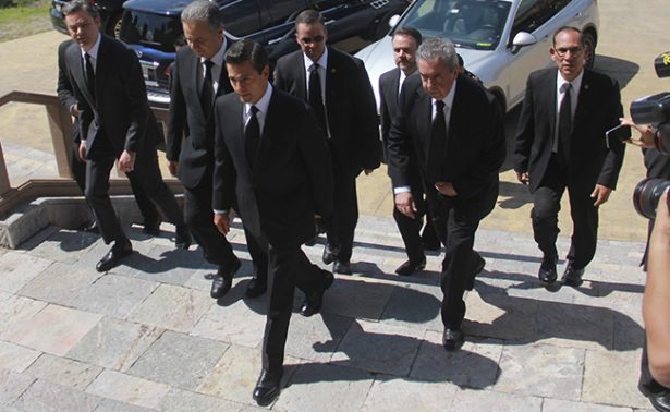 Peña Nieto da último adiós al Arzobispo Antonio Chedraoui en catedral ortodoxa