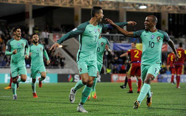 Cristiano Ronaldo mantiene el sueño de clasificar a Portugal al Mundial