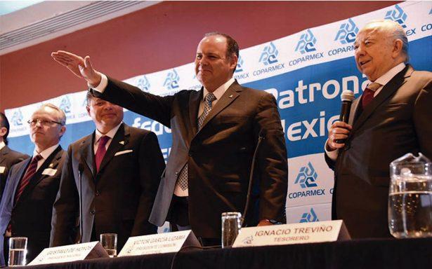 Coparmex reelige a Gustavo de Hoyos por un año más