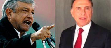 AMLO llama corrupto a gobernador de Veracruz