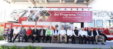 Reconocen a PC de Irapuato; recibe nuevo equipo de rescate