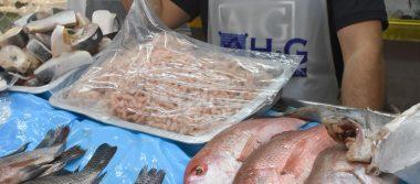 Prevén aumento de hasta 20 pesos por kilo de mariscos por Semana Santa