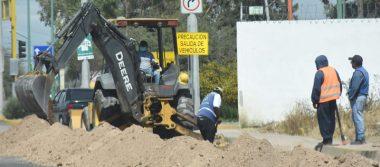 Trabaja JAPAMI en la renovación de redes de agua potable