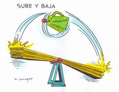 Hoy en el Cartón de Salazar / SUBE Y BAJA
