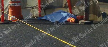 """""""Horrible muerte de obrero en carretera"""""""