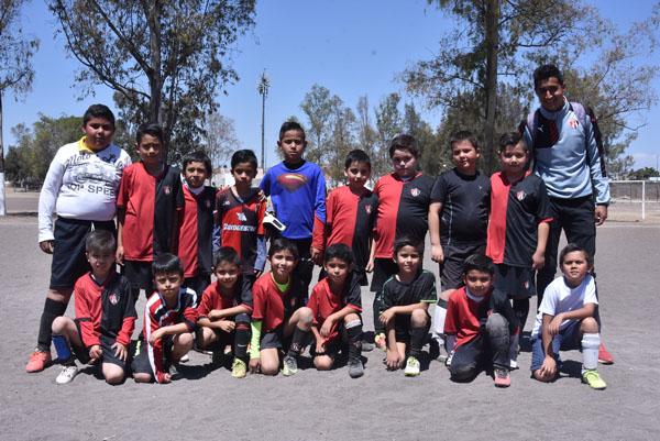 ESCUELA OFICIAL del equipo de Fútbol Atlas, obtuvo un gran triunfo en esa jornada. Foto: Martín Martínez / Sol de Irapuato.