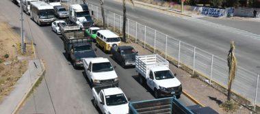 Se agudiza caos en salida a Salamanca