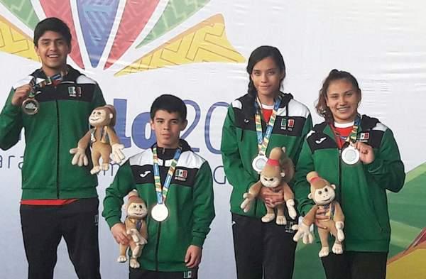 La delegación guanajuatense de natación pone nuevamente en alto el nombre de México en los Juegos Parapanamericanos 2017. Foto: El Sol de Irapuato