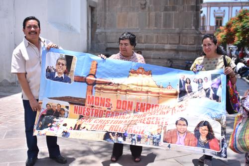 Viajan desde Chiapas