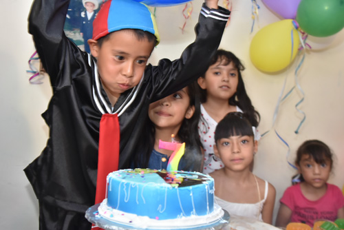 Celebra sus siete años