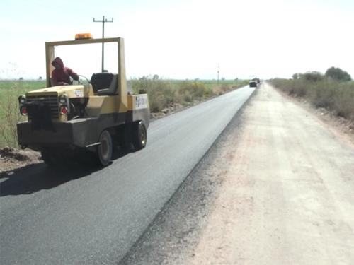 Concluye SOP rehabilitación  de camino a la Cal Grande
