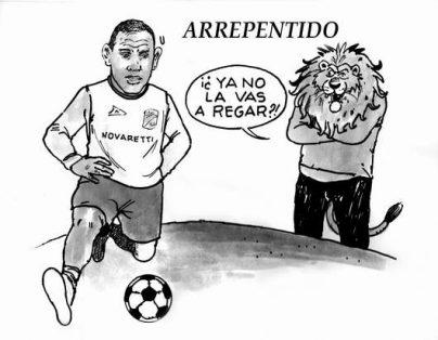Hoy en el Cartón de Salazar / ARREPENTIDO