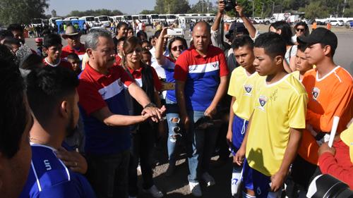 """Arrancó el Torneo Copa Comunidades Irapuato 2017 """"Domina la prevención"""""""