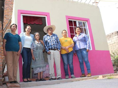 Viviendas y cuartos, han cambiado la vida de 280 familias comunitarias