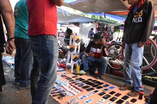 Van contra tianguistas que vendan productos robados