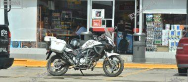 Solitario ladrón atraca tienda de autoservicio