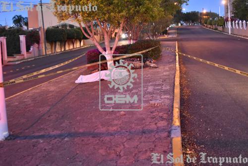 Muere motociclista en Villas de Irapuato por circular a exceso de velocidad