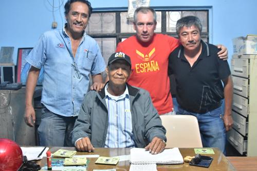 Oficialmente nombran a Javier Ayala presidente de la Liga de Veteranos Antonio Martínez Márquez