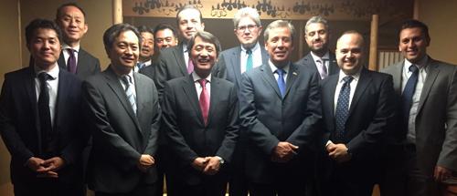 Fortalece Márquez negocios con Japón