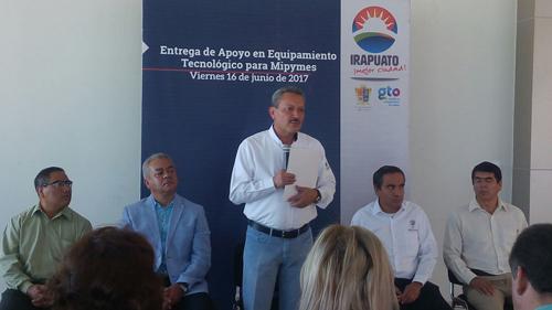 Mipymes, fortaleza económica: Ortiz