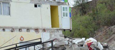 Se derrumba casa de estudiantes en la capital