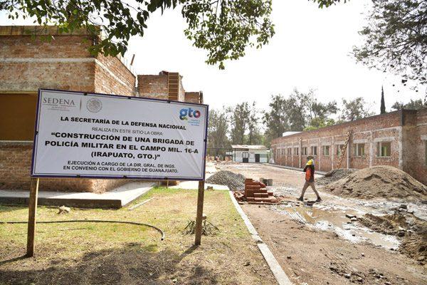 """Será en """"efe"""" aportación para cuartel militar: Ortiz"""