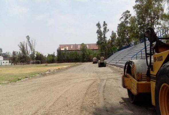 Invierte SOP 9.8 mdp en rehabilitar pista de Deportiva Sur