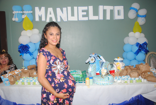 Divertido baby shower para Moni