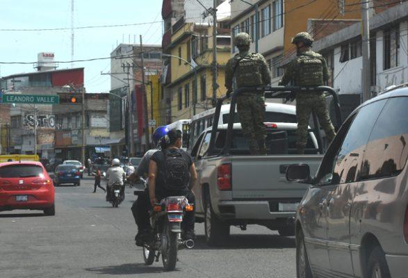 Patrulla la Marina calles de Irapuato