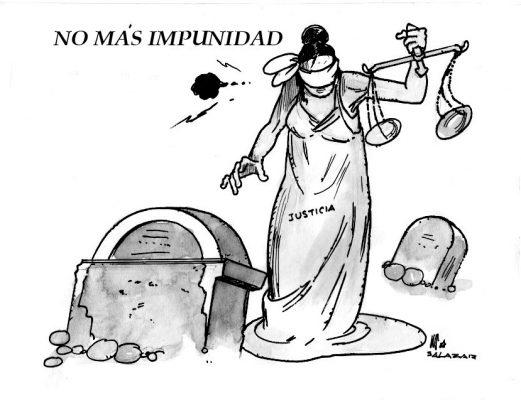 Hoy en el Cartón de Salazar / NO MÁS IMPUNIDAD