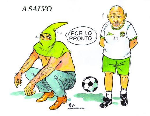 Hoy en el Cartón de Salazar / A SALVO