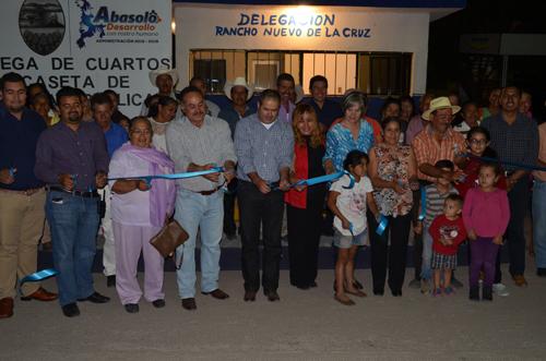 Entrega alcalde obras por más de 8 millones de pesos