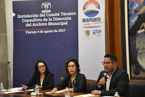 Integran Comité del Archivo Municipal
