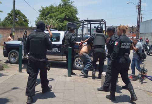 Entre 15 y 20 detenciones mensuales por consumo o portación de drogas