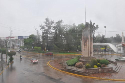 Vienen más lluvias intensas para el Estado: Conagua