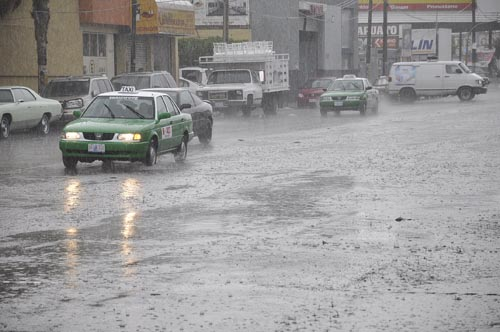Trae Franklin fuertes lluvias