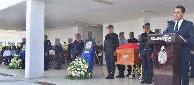 Realizan homenaje a policías caídos en su deber en Salamanca
