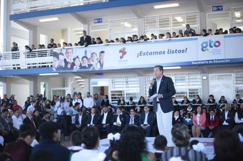 Crece infraestructura educativa en el estado
