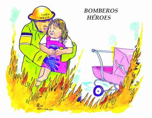 Hoy en el Cartón de Salazar / BOMBEROS HÉROES