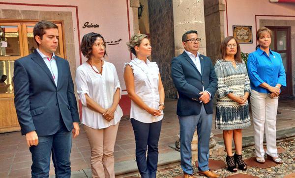 Vivir la cultura, pide Atala a irapuatenses