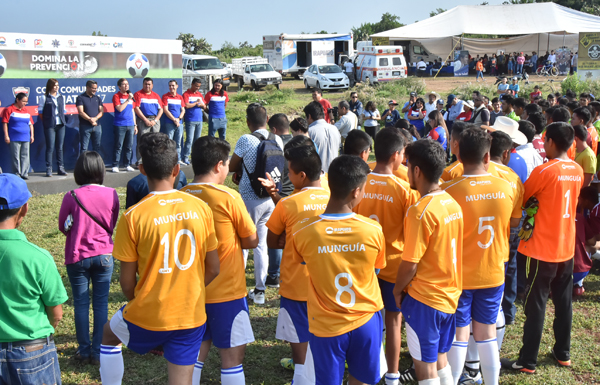 Reanudan Copa Comunidades