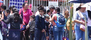 Regresan 128 mil estudiantes a clases