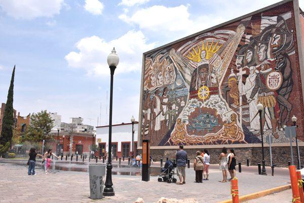 Íconos de Irapuato: El mural de los Orígenes de Irapuato