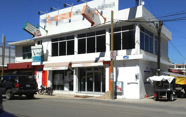 ¡Asaltan banco en avenida Guanajuato!