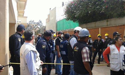 Grupo USAR-Guanajuato realiza labores de búsqueda y rescate