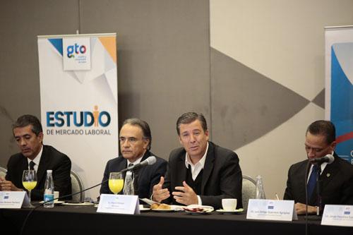 El trabajo transversal impulsa a Guanajuato
