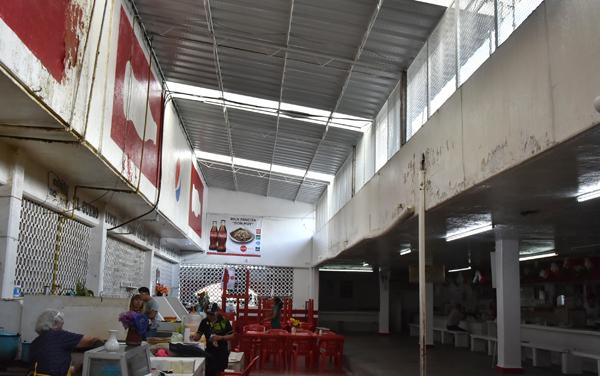 Realizan mantenimientos en el mercado Miguel Hidalgo