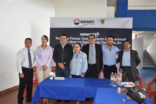 Presenta el Torneo Abierto Internacional de la Mejores Escuelas de TKD